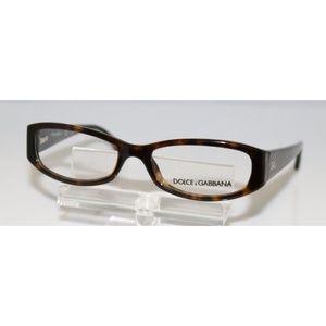 New Dolce & Gabbana Havana Eyeglasses
